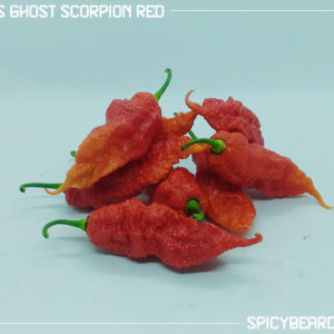 Peperoncino Piccante Jay's Ghost Scorpion Red - Capsicum Chinense